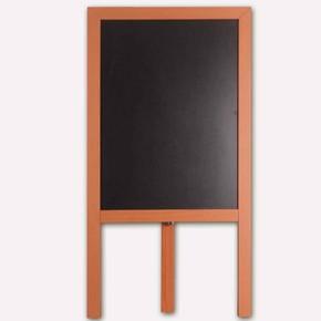 Ahşap Ayaklı Yazı Tahtası Siyah 50x70 cm