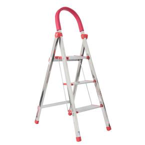 Stabilit 3 Basamaklı Kromajlı Merdiven