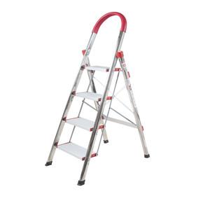 Stabilit 4 Basamaklı Kromajlı Merdiven