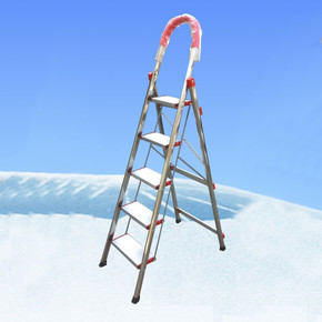 Stabilit 5 Basamaklı Kromajlı Merdiven