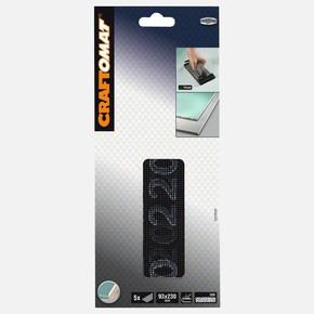 Craftomat -Sanding Screen 93x230 mm P220