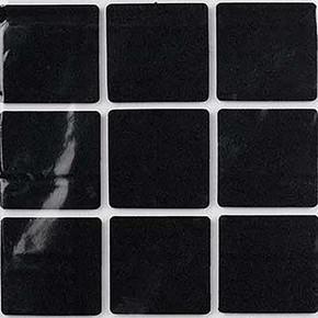 35X35 mm Siyah, 9'Lu Keçe Eva
