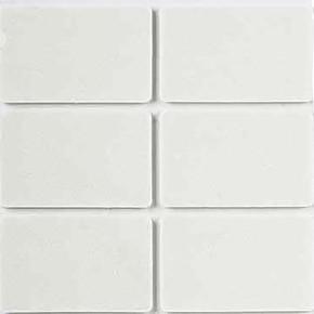 35X55 mm Beyaz, 6'Lı Keçe Eva