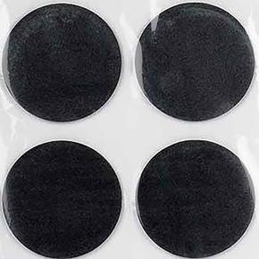 50 mm Siyah, 4'Lü Keçe Eva