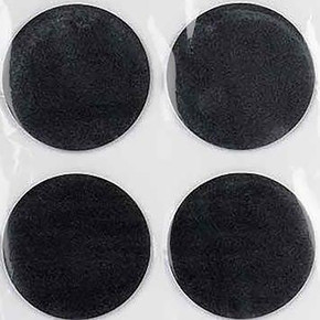 50mm Siyah 4'lu Keçe Eva