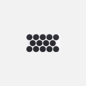 18 mm Siyah Yapışkanlı Vida Tapası