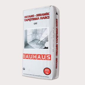 Bauhaus Seramik Fayans Yapıştırıcısı Gri C1 Sınıfı 25kg