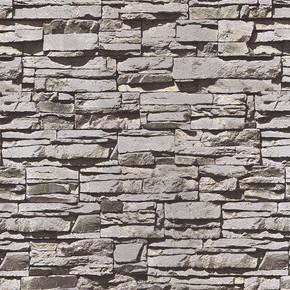 Emboss Siyah Taş Duvar Kağıdı