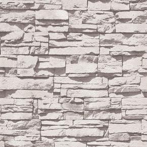 Emboss Yeni Taş Gri Duvar Kağıdı
