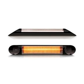 Veito Infrared 2500W Blade S Duvar Tipi Isıtıcı Siyah