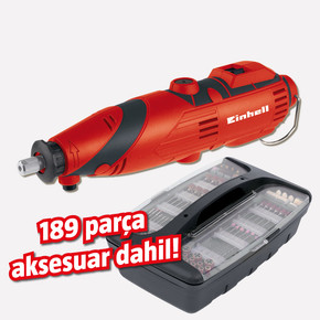 Einhell TC-MG 135E Mini Taşlama ve Gravür Seti