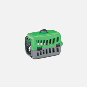 Evcil Hayvan Taşıma Çantası Yeşil Gri