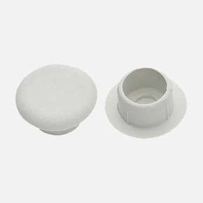 10'Lu 10 mm Plastik Tapa Karışık Renk