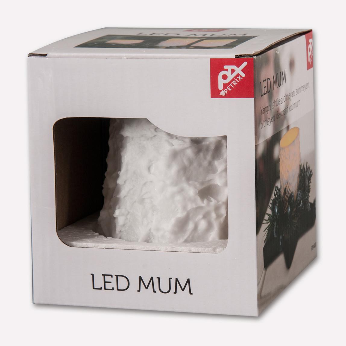 Petrix PD 400 Led Mum Beyaz
