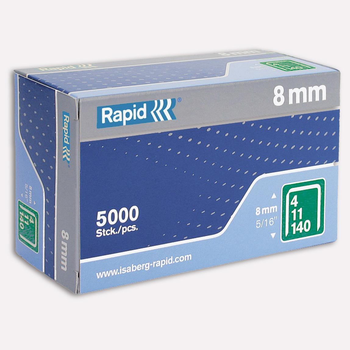 Rapid 140/8 mm 5000 Adet Zımba Teli