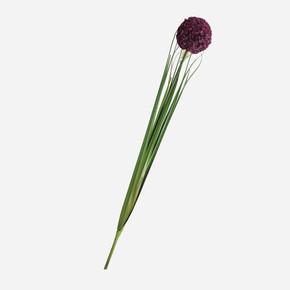 Allium Yapay Çiçek Mor