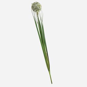 Allium Yapay Çiçek Beyaz