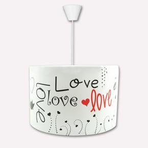 YKC Love Desen Dekoratif Tavan Lambası