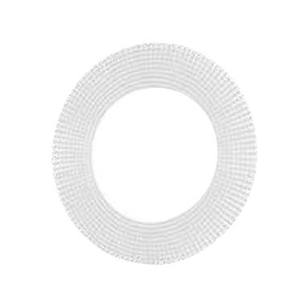 Mozaik Desen Ayna Yuvarlak Beyaz