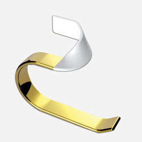 Caprice White Gold Yuvarlak Havluluk