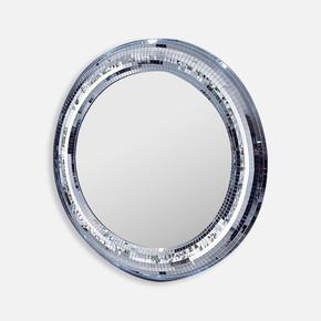 10X10 mm  Mozaik   Füme  Beyaz  Ayna