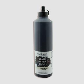 Cadence Kara Tahta Boyası 750 ml Siyah