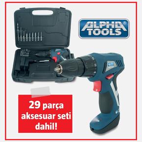 Alpha Tools Acd 7,2'li Şarjlı Vidalama