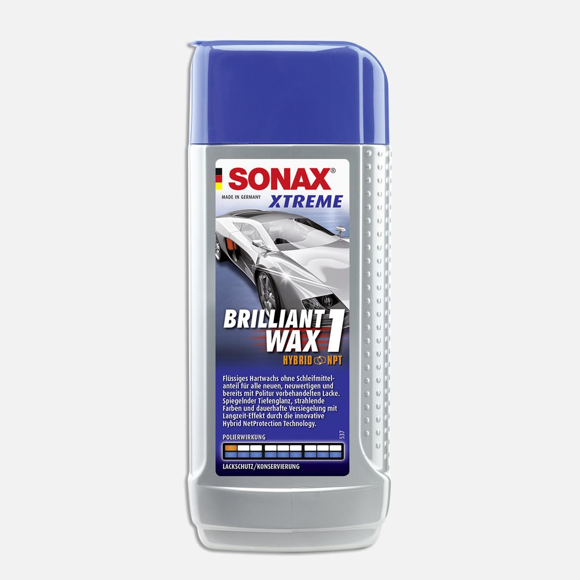 Sonax Xtreme Çizik Giderici ve Parlatıcı Cila (Hybrid NPT) Yeni Araçlar İçin 250 ml Parlatıcı1