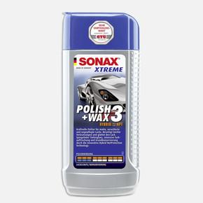 Sonax Xtreme Çizik Giderici ve Parlatıcı Cila (Hybrid NPT) Yıpranmış Boyalar İçin 250 ml Parlatıcı 3