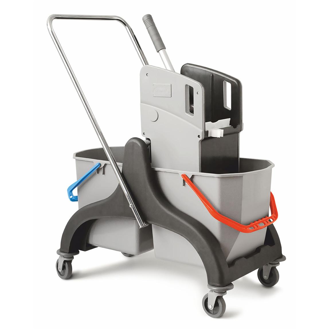 Gojo Çift Kovalı Temizlik Arabası