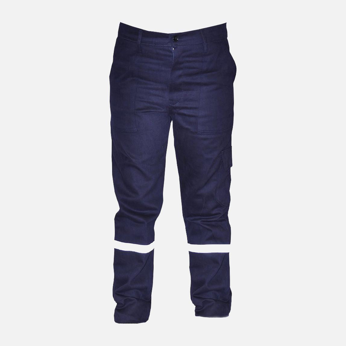 İş Pantolonu %100 Pamuk S Beden Lacivert