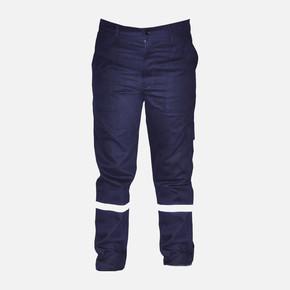 İş Pantolonu %100 Pamuk L Beden Lacivert