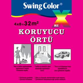 Swing Color Koruyucu Örtü 32m²