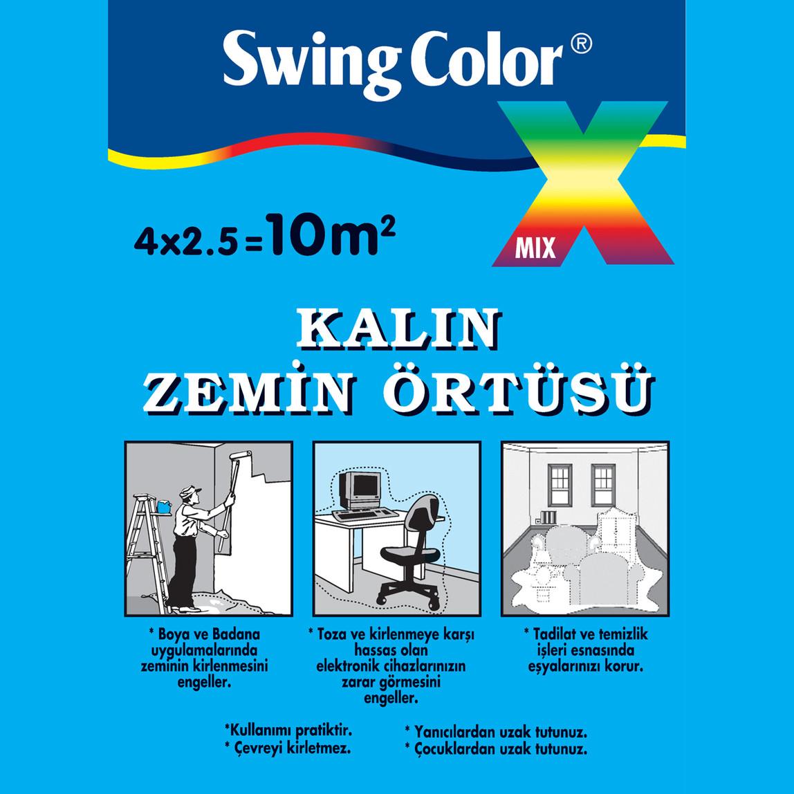 Swing Color Kalın Zemin Örtüsü 10m²