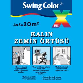 Swing Color Kalın Zemin Örtüsü 20m²
