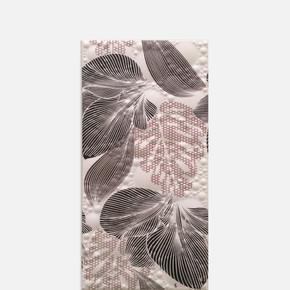 25X50Cm   İnci White Flower Dekor