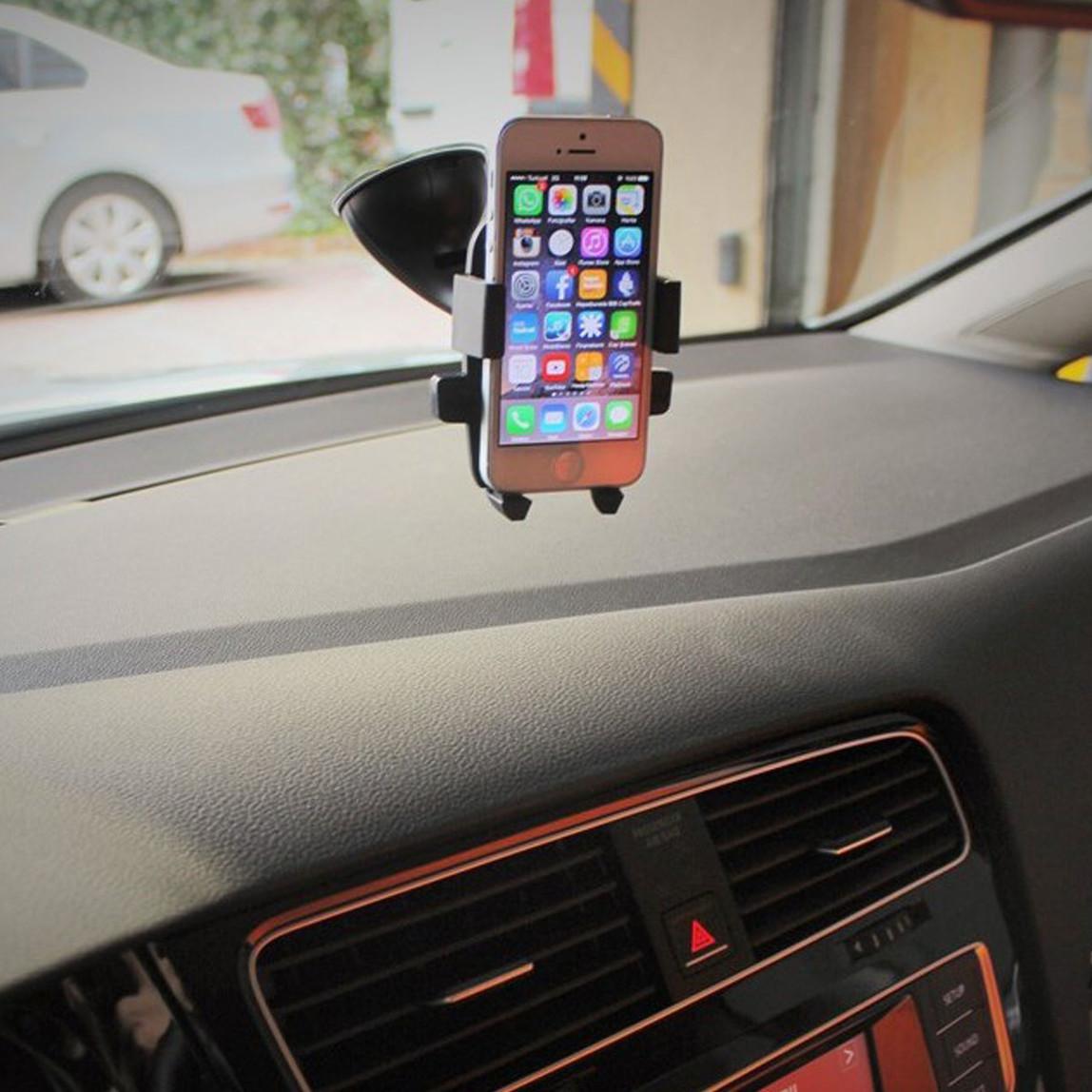 Car Universal Syte116 Otomatik Kapanan Telefon Tutacağı