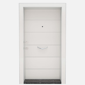 Kroma Mat Beyaz Çelik Kapı
