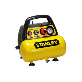 Stanley 6 Lt 1,5Hp 8Bar Yağsız Hava Kompresörü