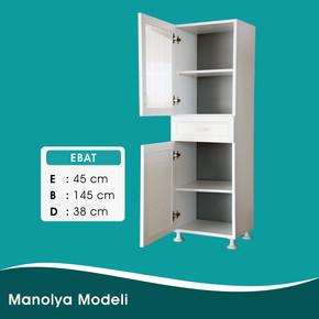 Manolya PVC Dolap