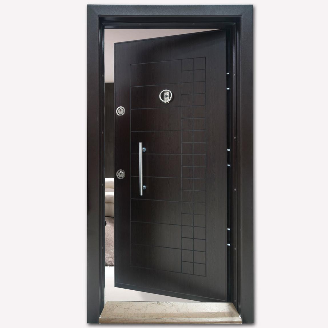 Yakut Serisi Çelik Kapı Sağ