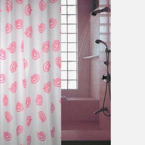 Tekstil Banyo Perdesi Mail Kırmızı
