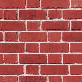 Tuğla - Kırmızı Duvar Kağıdı