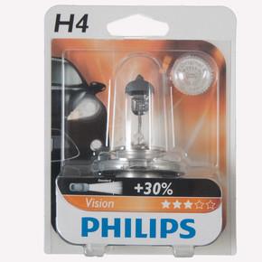 Philips H4 Vision H4 12V 60/55W Halogen Oto ampul