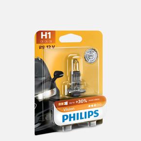 H1 12V %30 Daha Fazla Uzun ve Kısa Far Ampülü