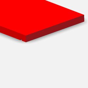 Ahşap Raf Kırmızı