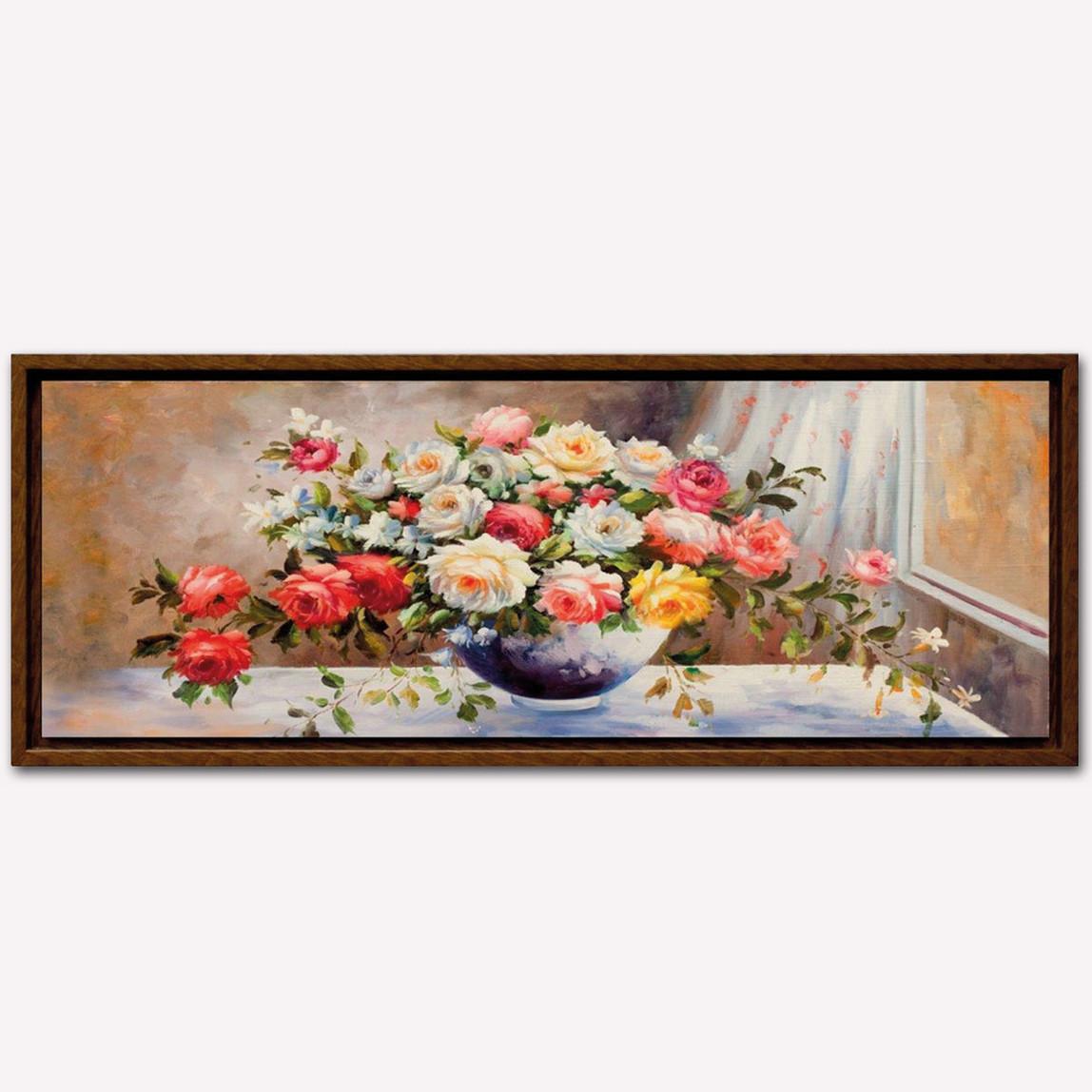Dec Art 45x105cm Çerçeveli Canvas Tablo