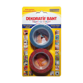 Dekoratif Bant 2'li Ekonomik Paket