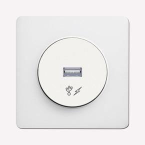 Schneider Odace USB Prizi Beyaz