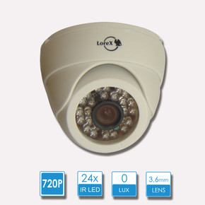Lorex HD24P Analog HD Dome Kamera